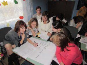 Şedinţă de lucru cu educatorii