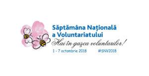 Implicare în Săptămâna Națională a Voluntariatului (SNV) 2018, ediția a XII-a