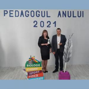 """Concursul """"Pedagogul Anului-2021"""""""