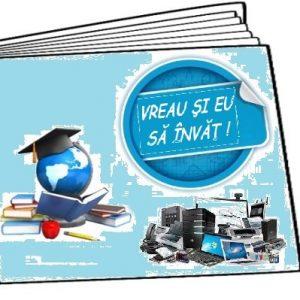 """Acțiunea """" Vreau și eu să învăț!"""" a început cu bucuria copiilor din familia Cernelea din comuna Larga"""